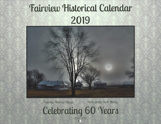 The front cover of the Friends of the Fairview Public Library calendar includes a recent photo taken by local resident Scott McCoy.