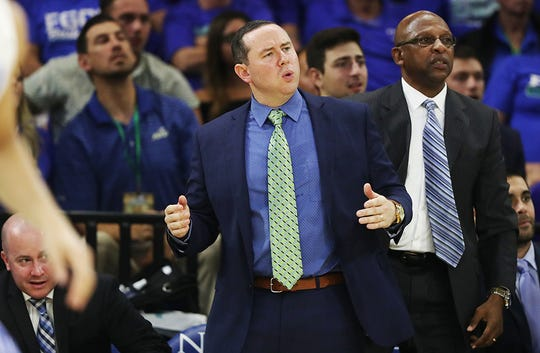 FGCU coach Michael Fly slipped to 10-22 in his second as head coach after going 14-18 in his first one.
