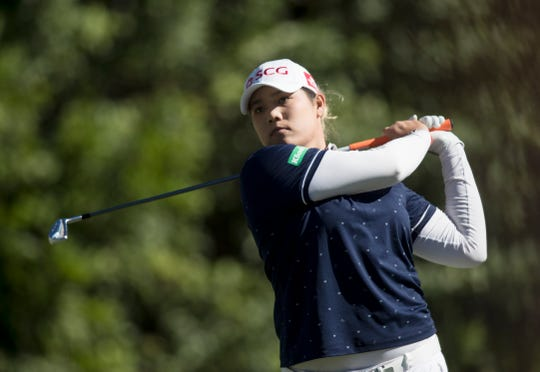 Ariya Jutanugarn did a lot more than just win the $1 million Race to the CME Globe on Sunday during the CME Group Tour Championship on at Tiburón Golf Club at the Ritz Carlton Golf Resort in Naples.