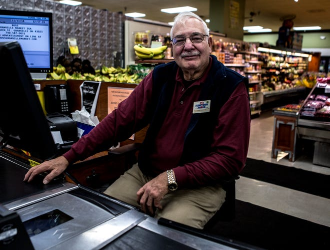 Jonathan Russel is well known in Granville, especially at the Ross' Granville Market. Many will stand in-line at his check-out lane just to talk with him – or listen to one of his bad jokes.