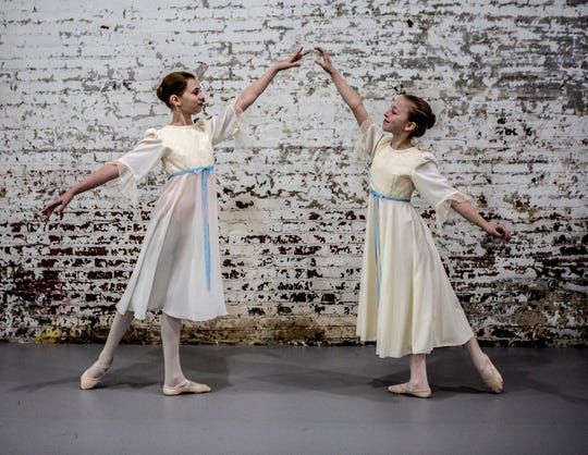 Friends and classmates at Granville Middle School, Emma Reding and Emma Federer will be sharing the of Clara in the Central Ohio Youth Ballet's production of the Nutcracker. The ballet can be seen at the Midland theater in Newark Thanksgiving Weekend. Tickets are still available.