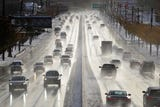 Raw video: Friday morning commute after the storm
