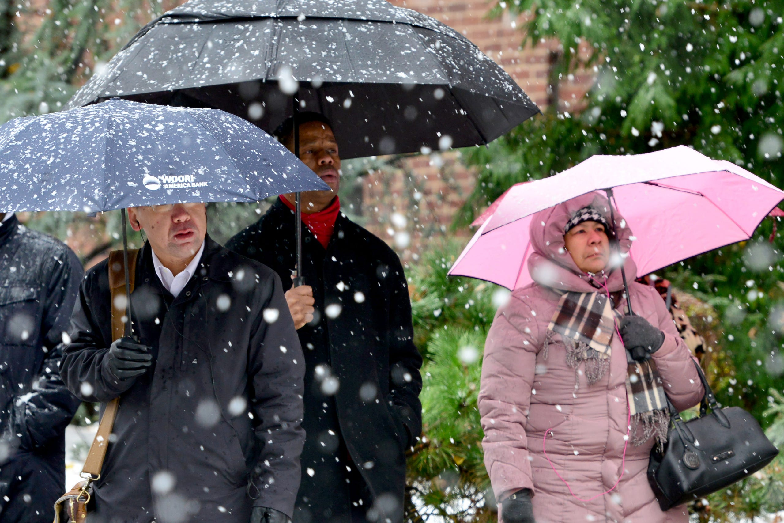 North Jersey hit with November snowstorm
