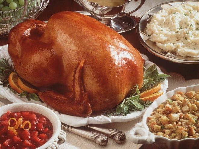 Turkey and sides for Thanksgiving: A favorite food time for columnist Karen Schloss-Diaz.