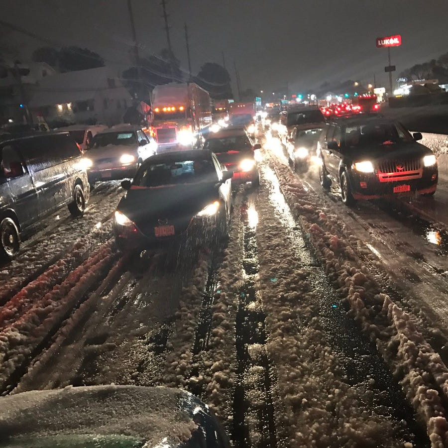 Snowstorm NJ 2018: Here's how Thursday's commute turned into complete chaos