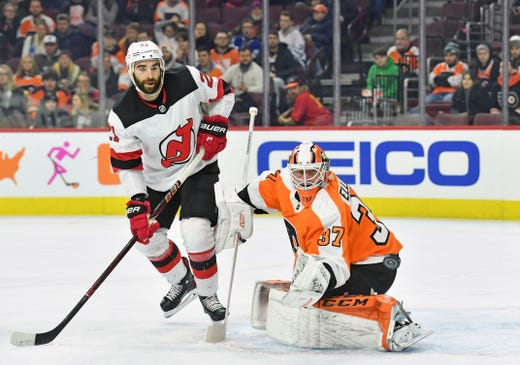 Nj Devils Joey Anderson Scores First Goal In Win Over Flyers