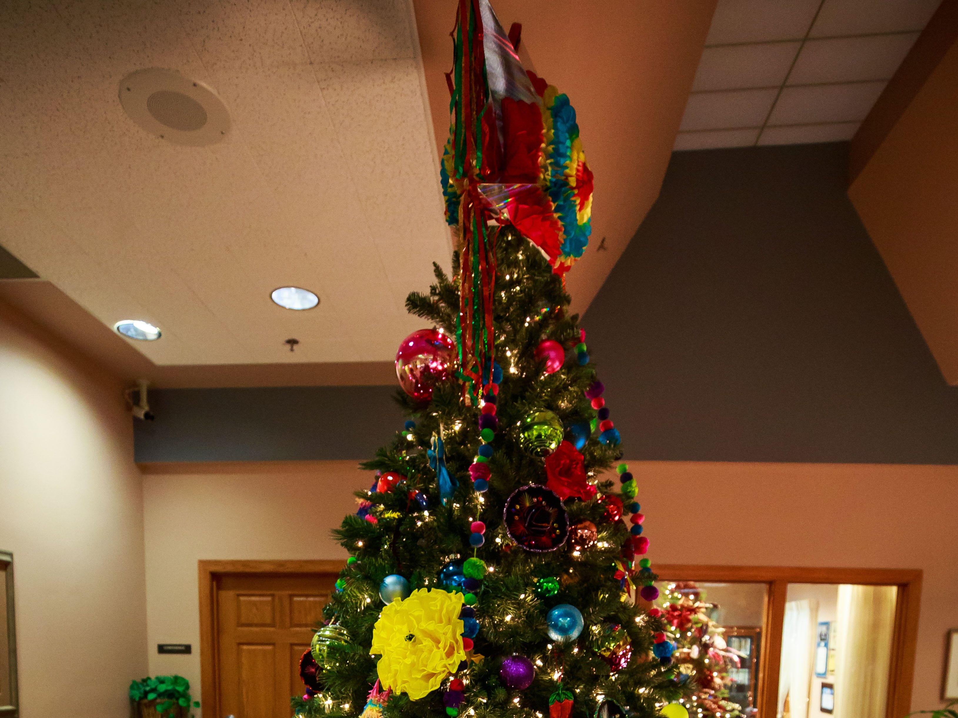"""Feliz Navidad,"" donated by Andele Restaurante, was one of the items for sale in a benefit for Cowboys for Cancer Research, held Thursday, Nov. 15, 2018, at First American Bank."