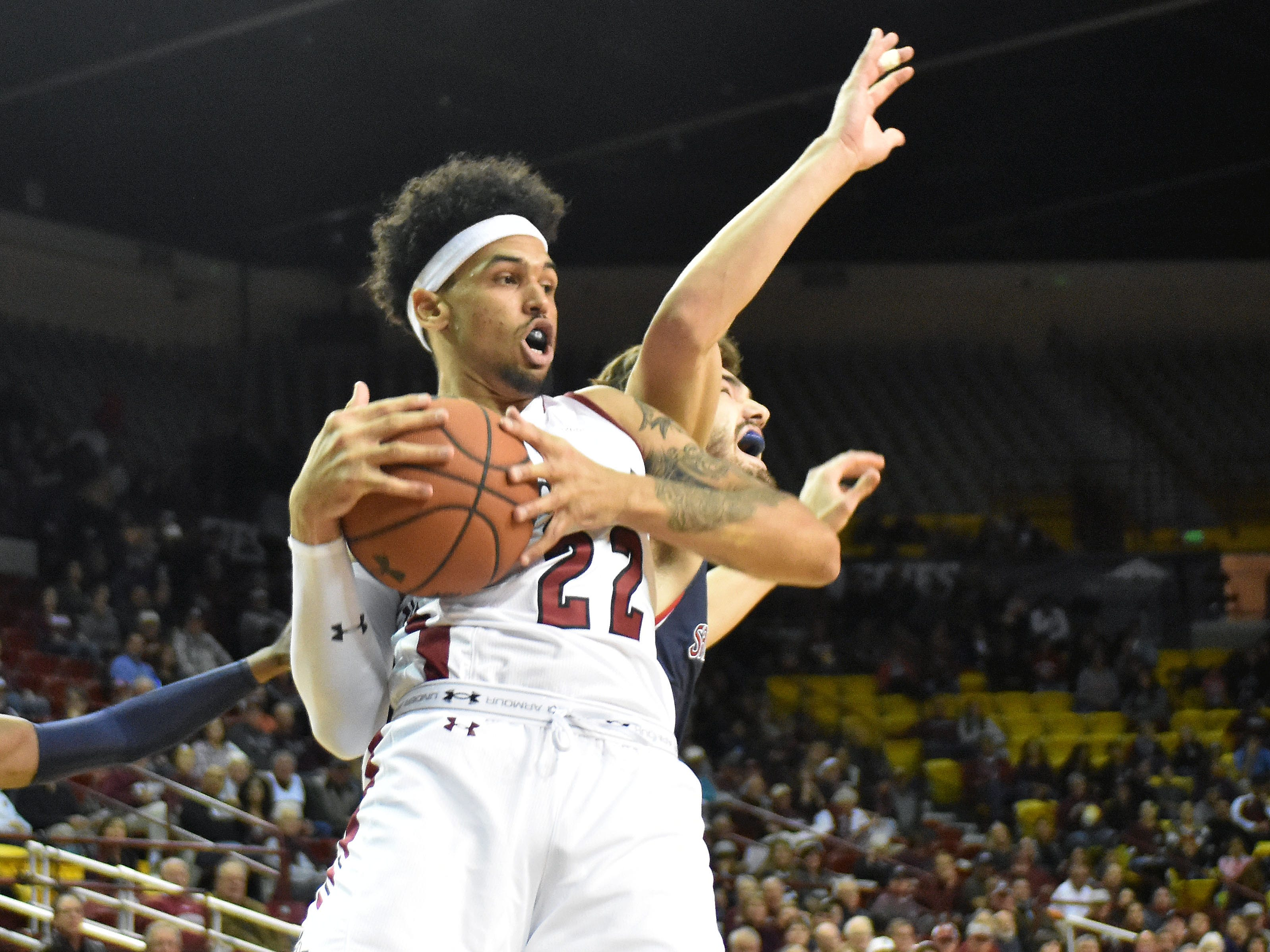 Eli Chuha and the New Mexico State Aggies are at New Mexico on Saturday afternoon.