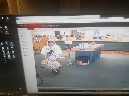 A man brandishing a gun robbed Western Commerce Bank Nov. 16 around 9 a.m.