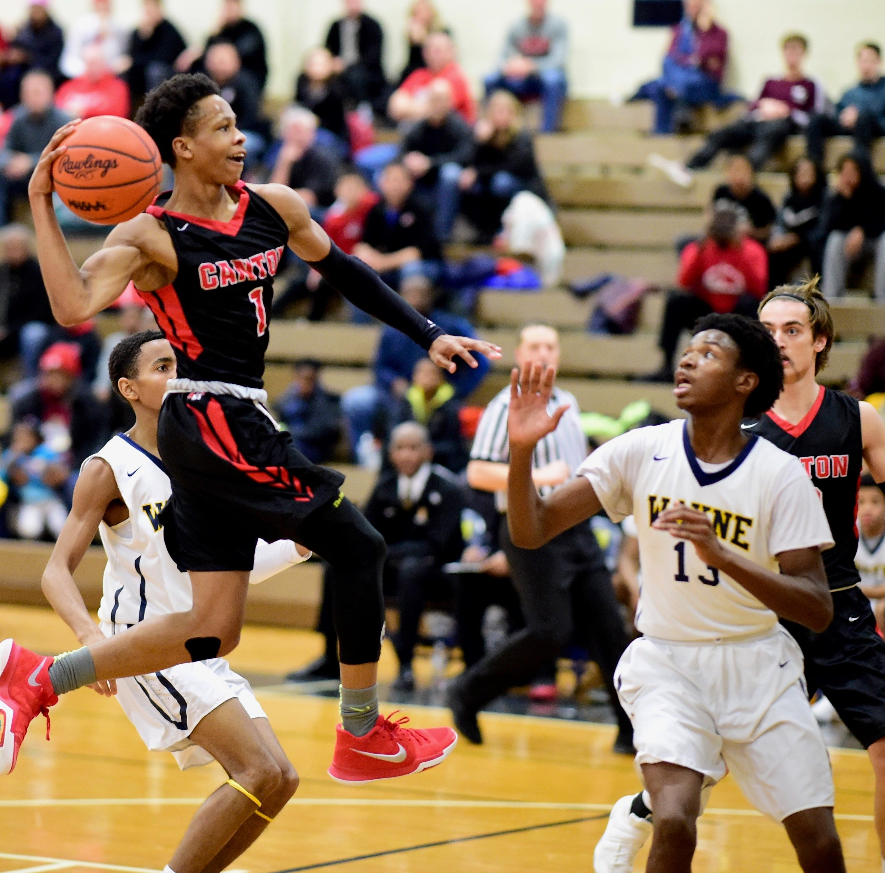 From video games to basketball games, Canton guard B. Artis White a Division I talent