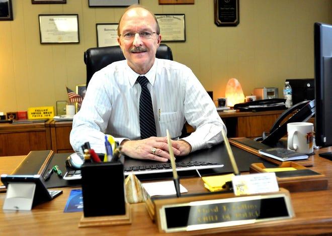 South Lyon Police Chief Lloyd Collins is retiring, effective Feb. 1.