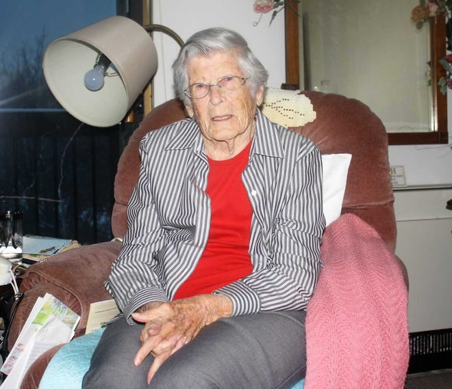 Northville resident Mildred Manigan reflected on her amazing life on her 106th birthday.
