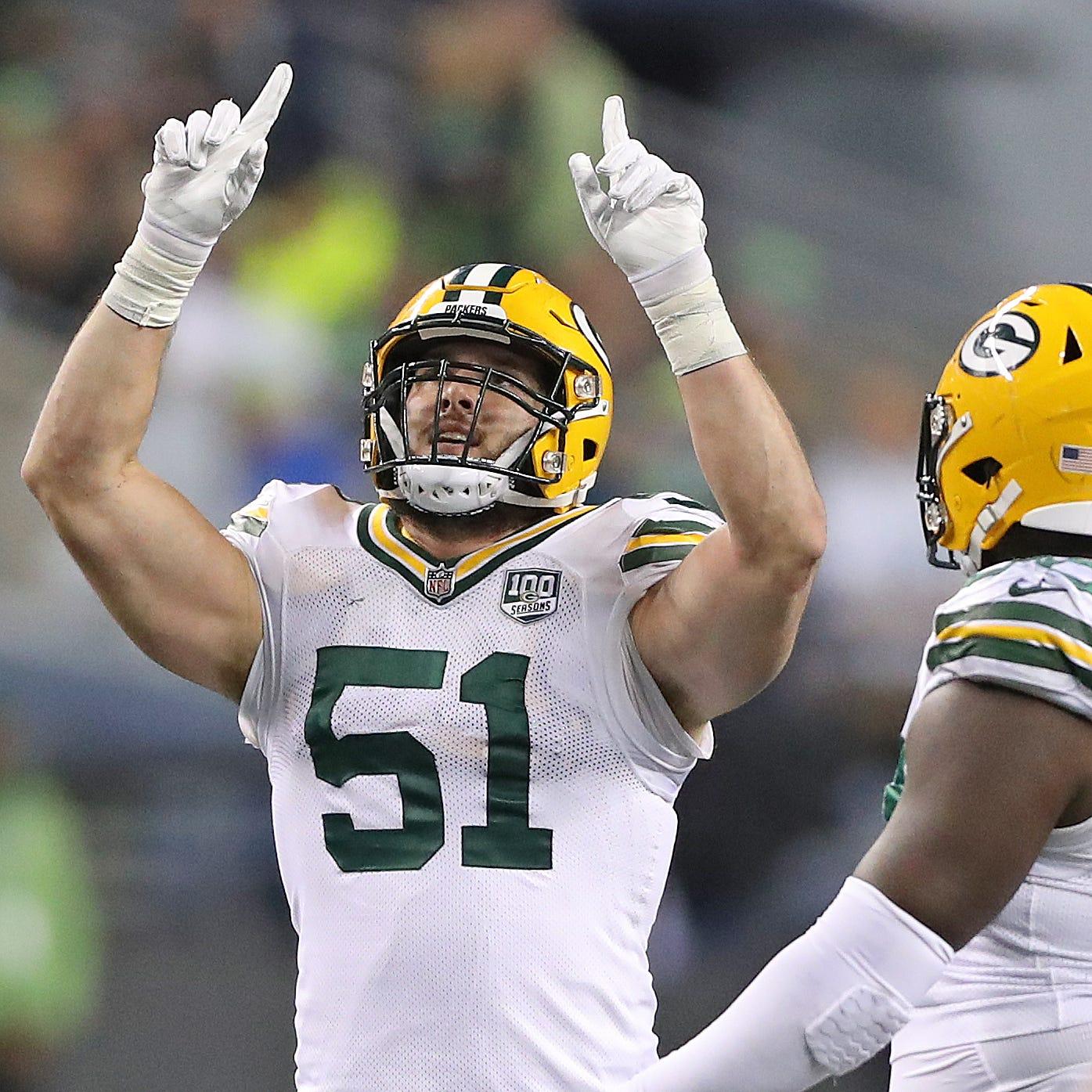 Packers edge rusher Kyler Fackrell changing perceptions while racking up sacks