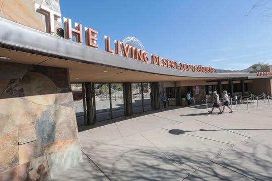 The Living Desert's new entrance on Thursday, November 15, 2018 in Palm Desert.