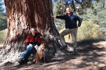 Mara Schoner and Mark Yardas are Idyllwild residents who began a nonprofit in an attempt to protect their town and forest from future wildfire damage