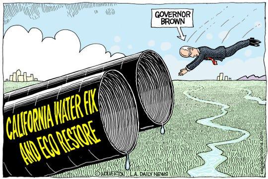 Wolverton, Battle Ground, WA, drew this cartoon.