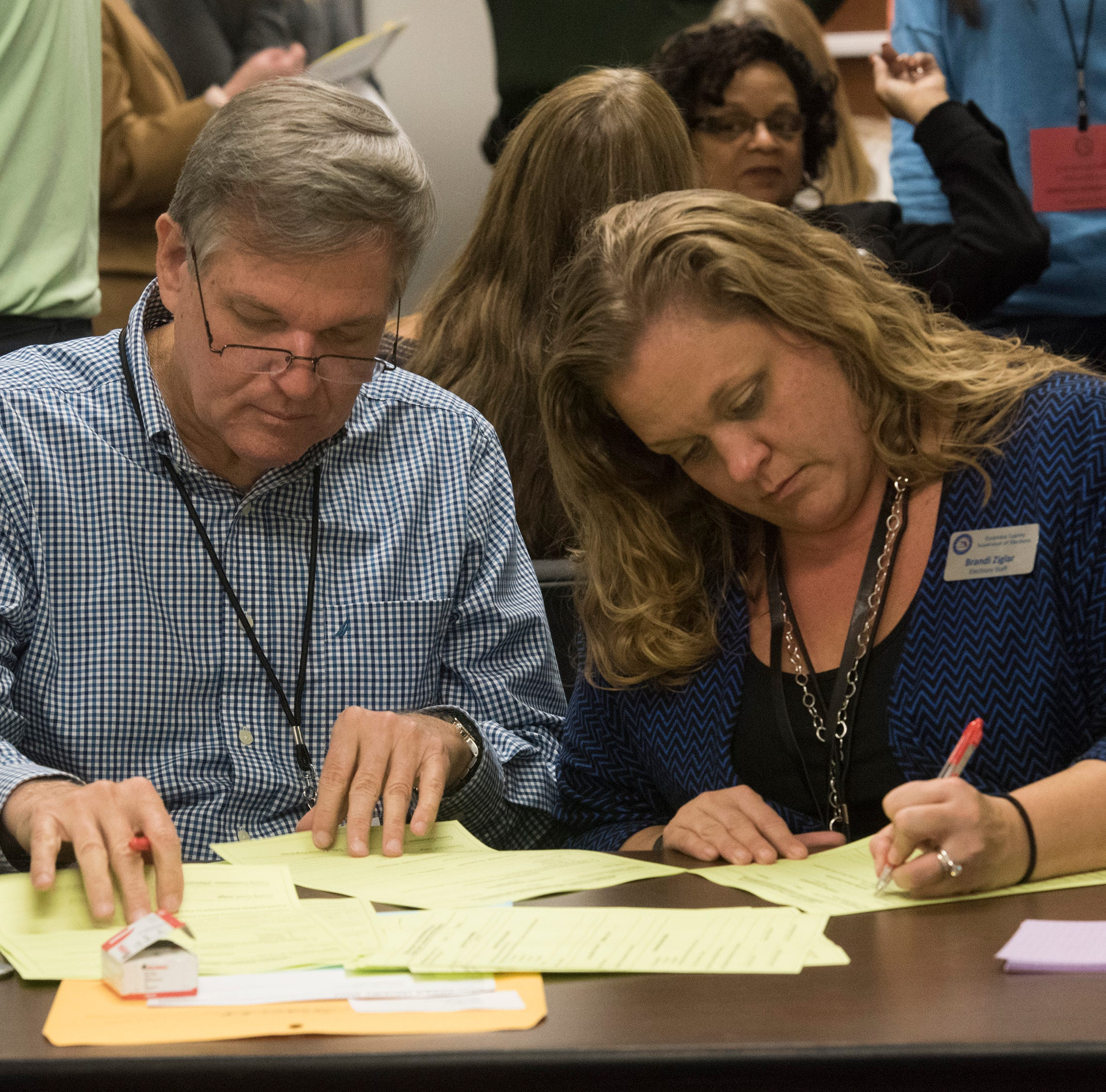 Manual recount complete in Santa Rosa County, will continue in Escambia County