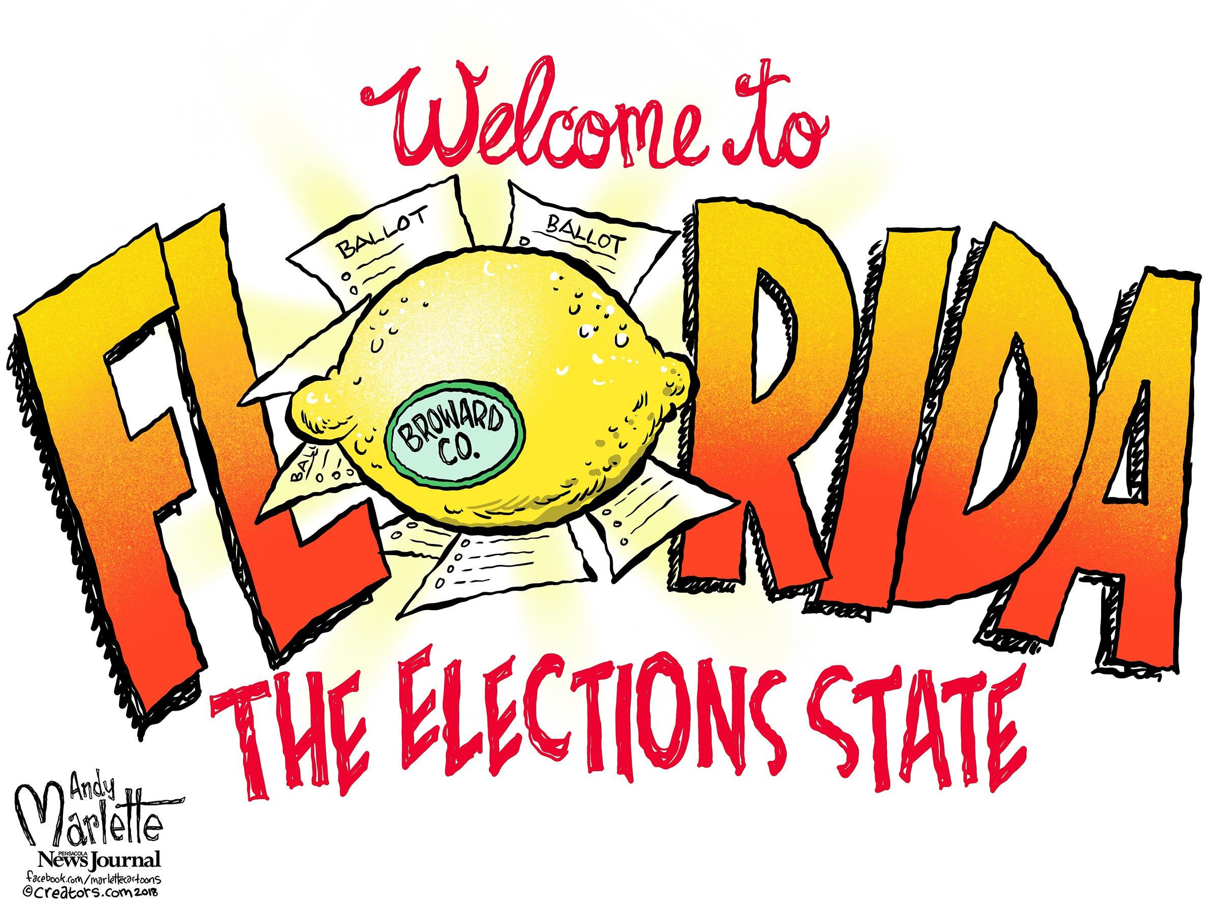 Doh Florida! An Election Cartoon Gallery