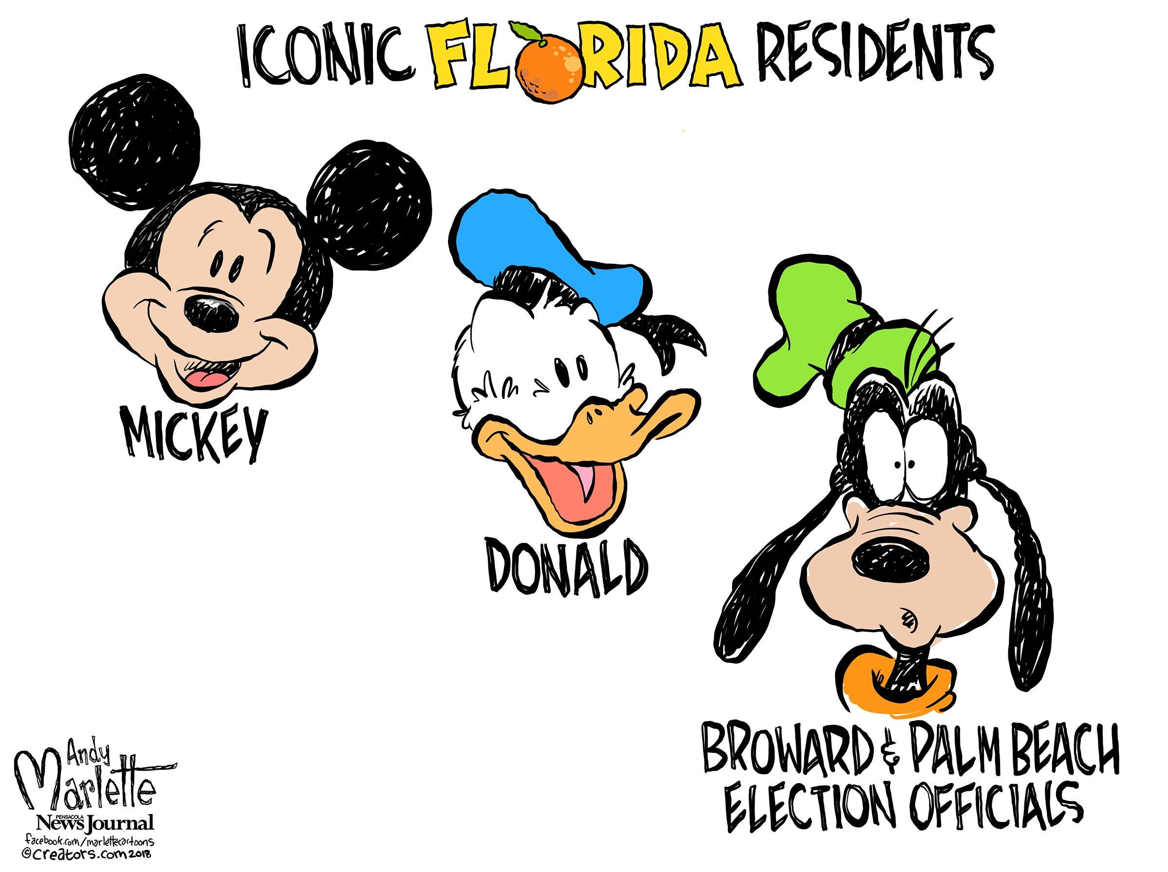 Marlette's Florida Election Cartoons