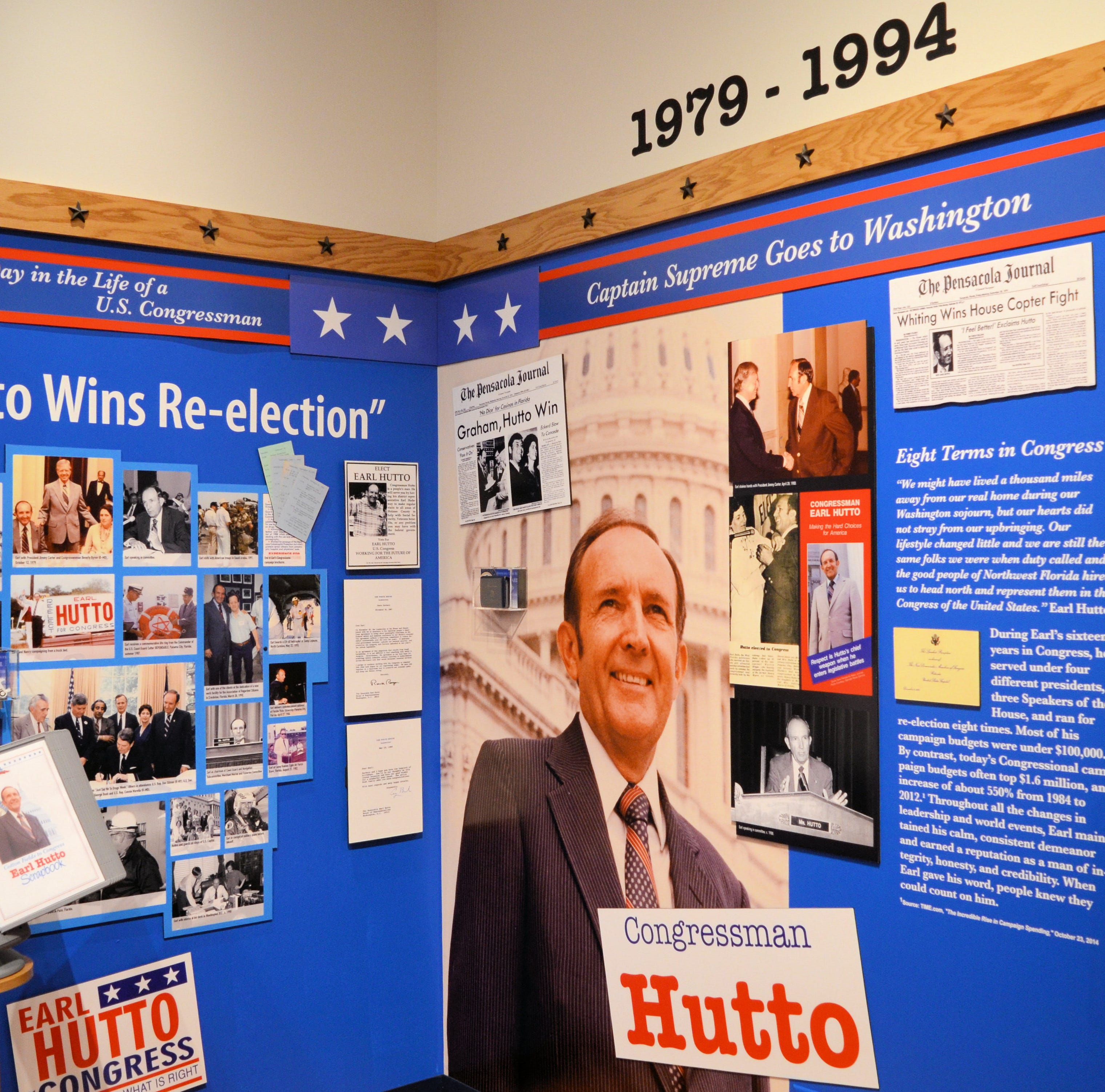 Life of Pensacola's iconic Congressman Earl Hutto chronicled in 'Cotton Fields to Congress'