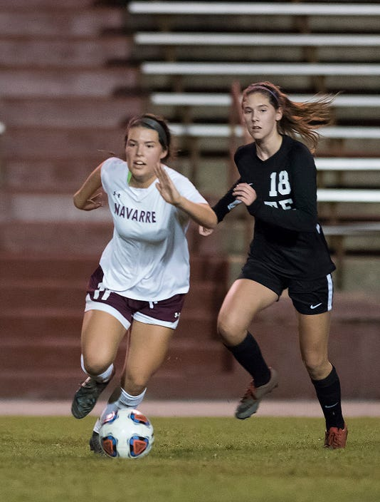 Navarre Vs Tate Girls Soccer