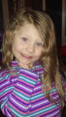 Dakota Wright, 4, of Hanover.