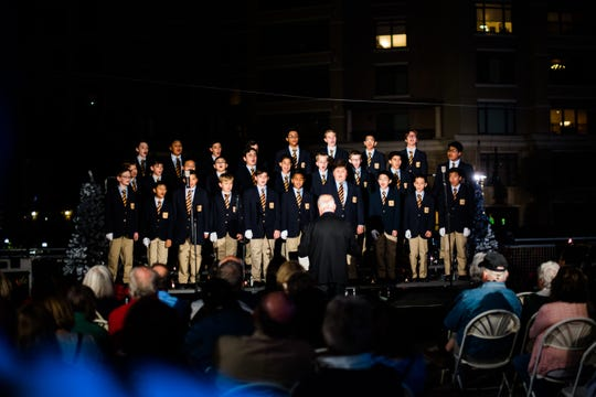 The Phoenix Boys Choir will perform at the Halle Holiday Concert Series in Sun City on Dec. 16.