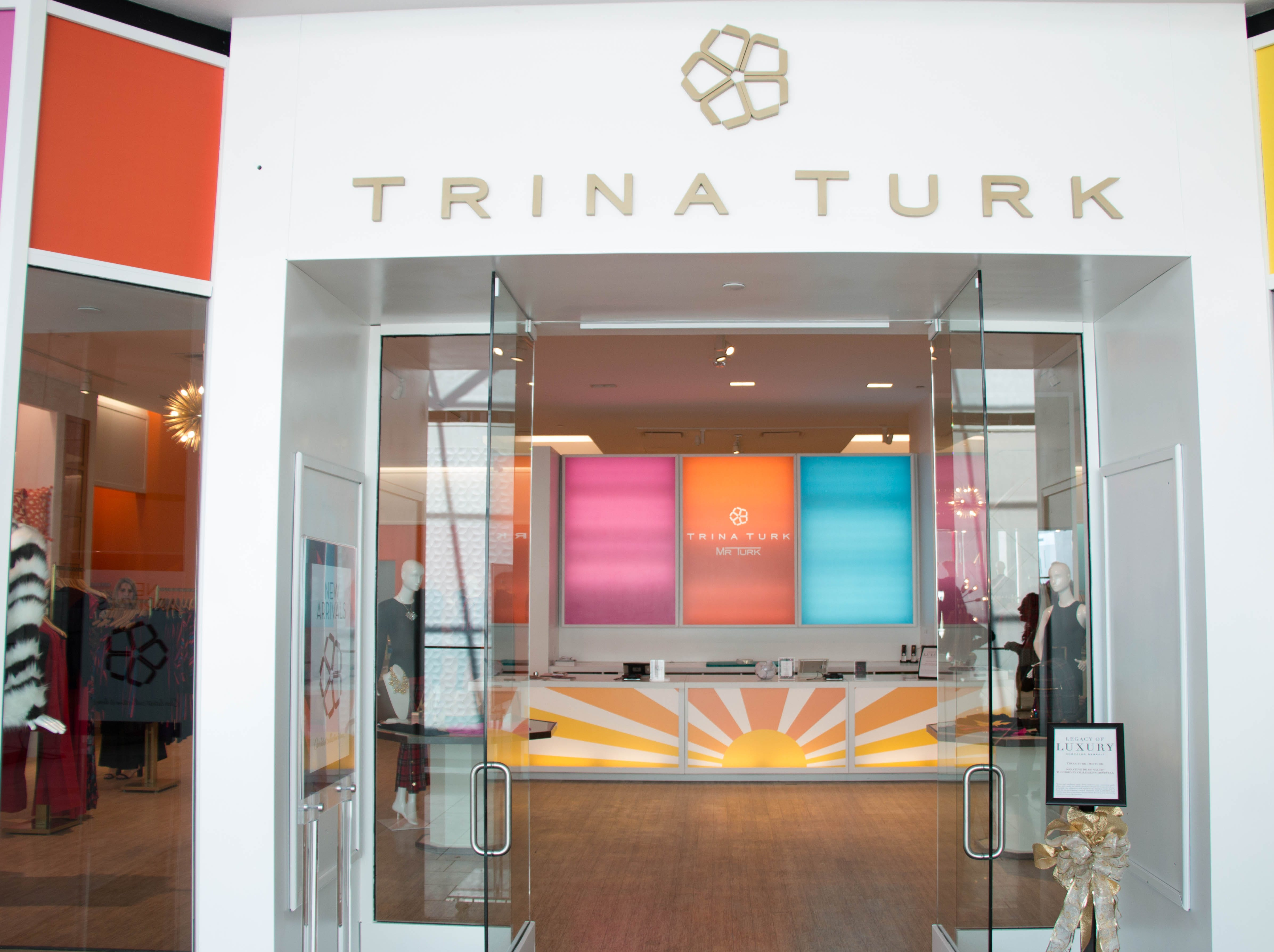 Trina Turk is one of several stores that recently opened its doors in Scottsdale Fashion Square's luxury wing.
