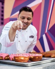 Donut Bar chef Santiago Campa.