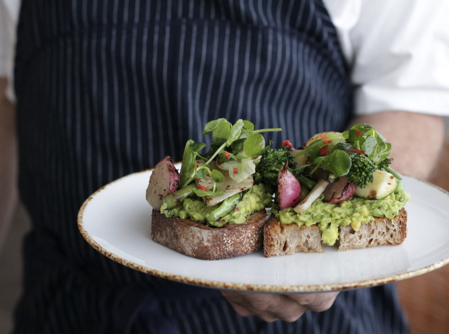 Avocado toast from Farmhouse in Los Angeles. Farmhouse is set to open early 2020 at Scottsdale Fashion Square's luxury wing.