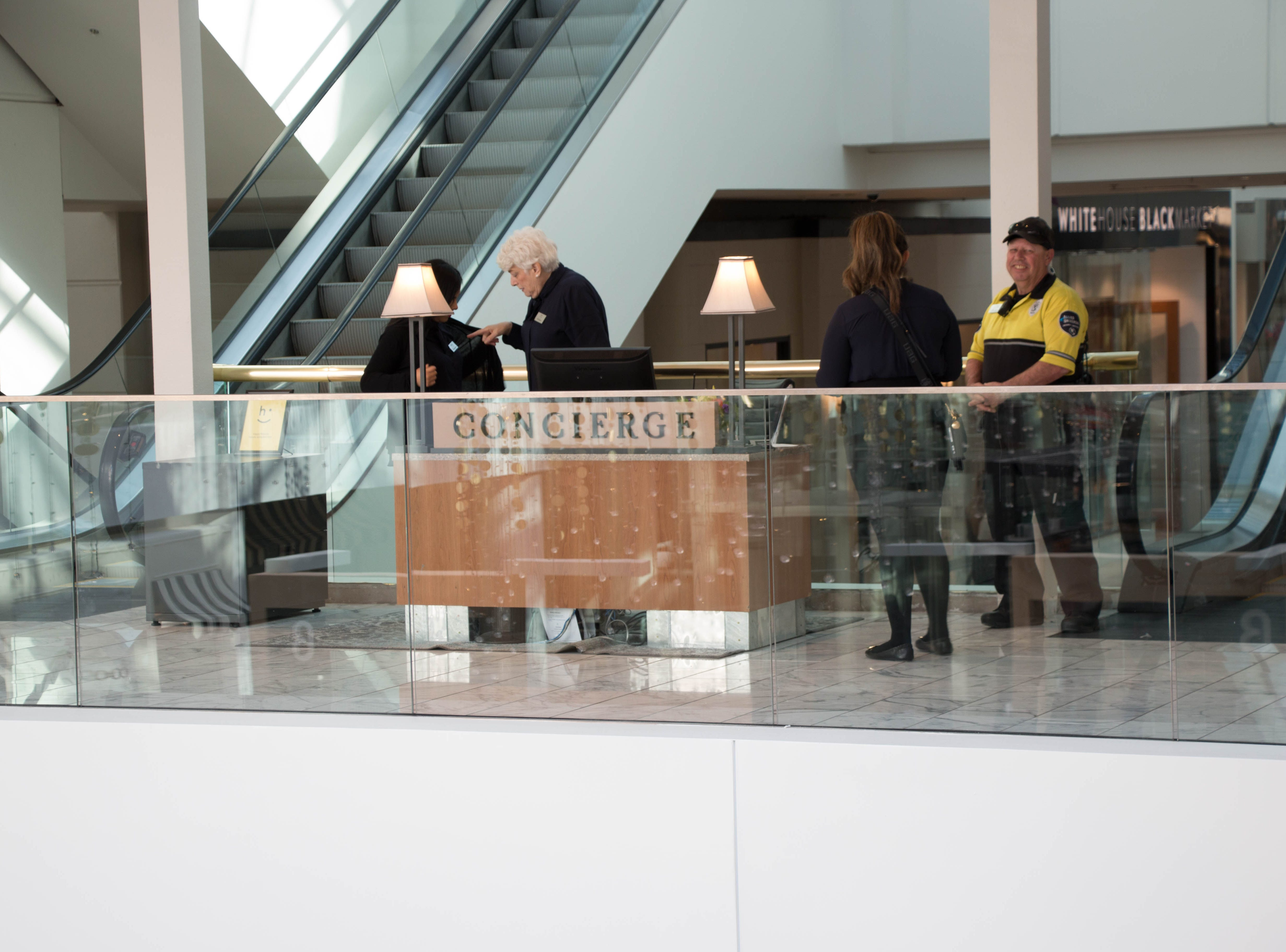 Plans to add an additional concierge in the luxury wing are underway.