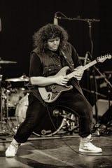Conrad Varela performs