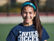 Xavier College Preparatory soccer player Katie McGee takes a break during practice at the school, Tuesday, November 13, 2018.