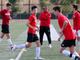 Brophy Prep head soccer coach Paul Allen instructs his team during practice in Phoenix on November 14.