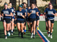 Xavier College Preparatory soccer team takes a lap during practice at the school, Tuesday, November 13, 2018. From left to right in the front row are; Lindsay Hubbard, Katie McGee, Caitlin Johnston and Sadie Wintergalen.