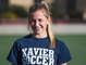 Xavier College Preparatory soccer player Sadie Wintergalen takes a break during practice at the school, Tuesday, November 13, 2018.