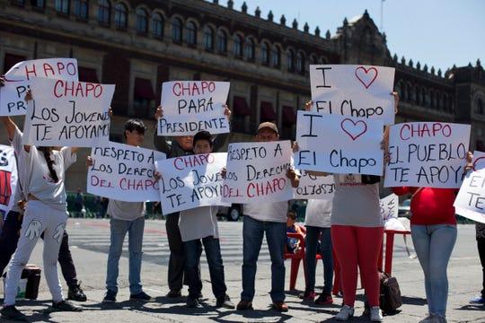 Para mucha gente en México, sobre todo en Sinaloa, 'El Chapo' es un héroe, una especie de Robin Hood.