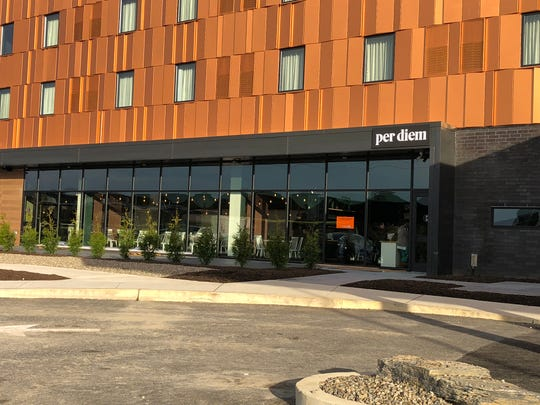 The restaurant Per Diem inside Hotel Rock Lititz aims to become a destination of its own.