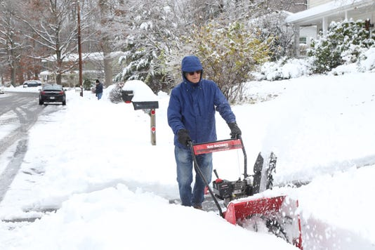 November Snow Cleanup