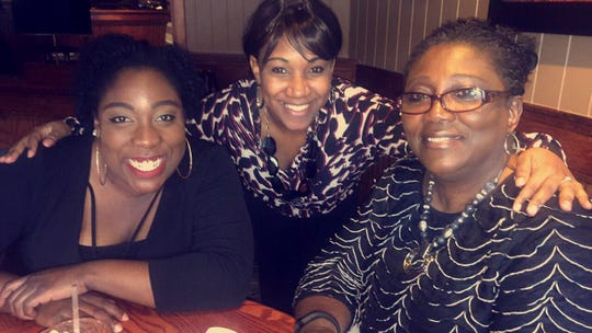 Mikaela McNeil's aunts and grandmother photographed together. From left: Alicia Cauthen, Andrea McNeil and Carol Cauthen.