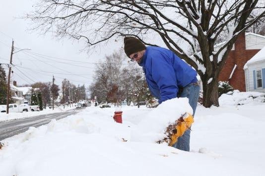 November Snow Cleanup