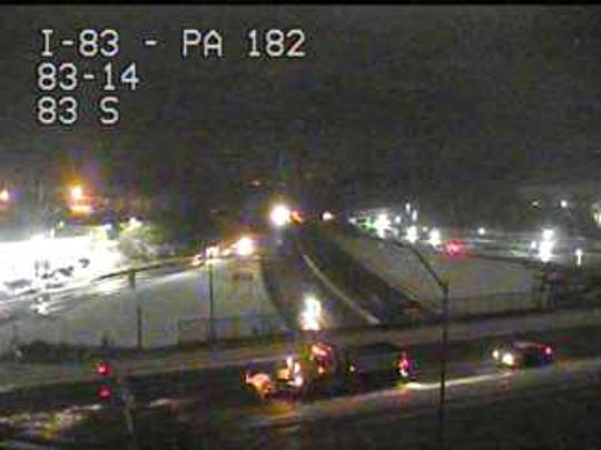 This is the Leader Heights exit of I-83.