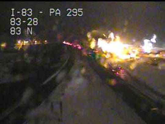 This is the Strinestown exit of I-83