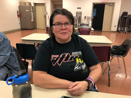 Carol Ober stops at The Coffee Spot every day. While there, she enjoys playing card games.