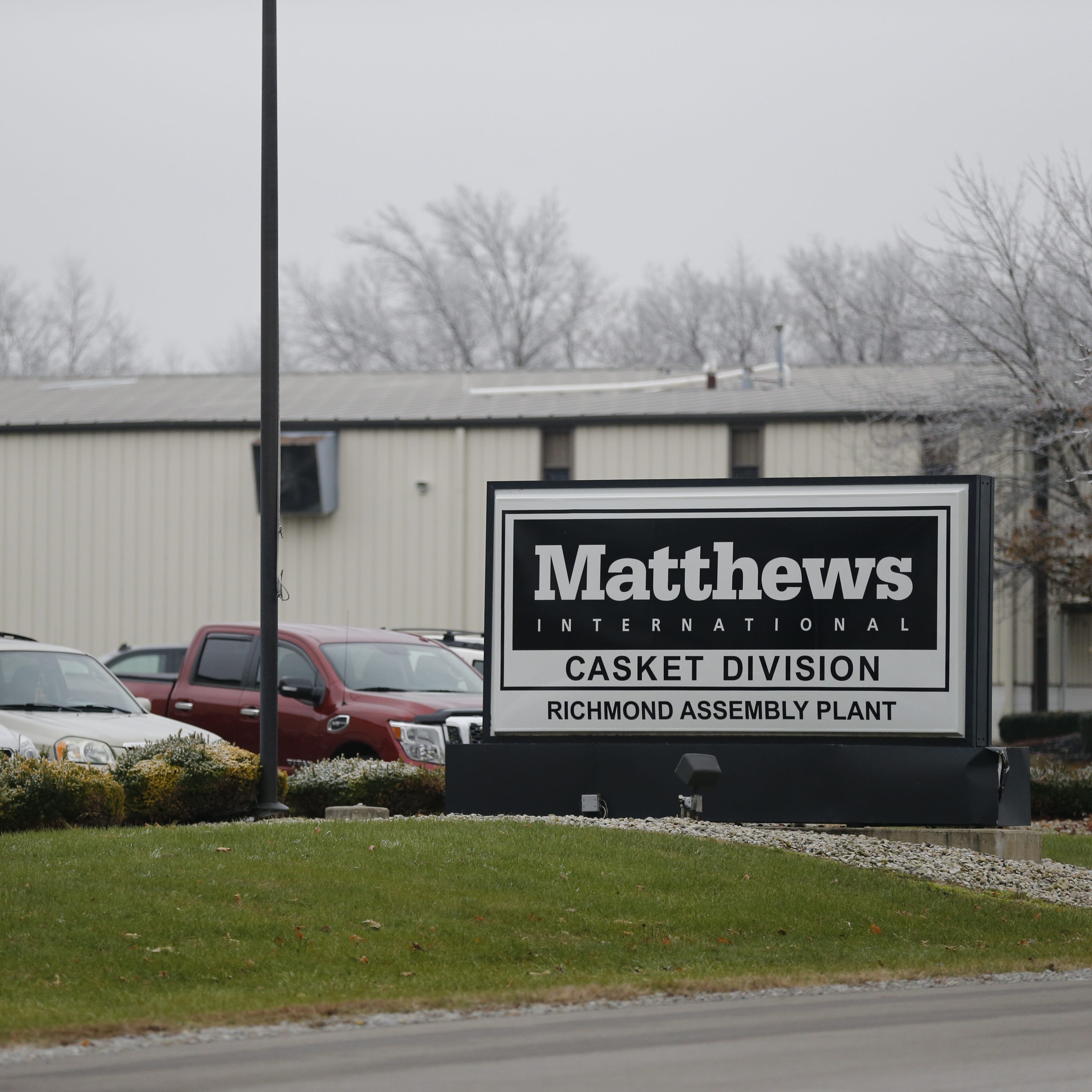 Casket maker will close Richmond plant by end of next year
