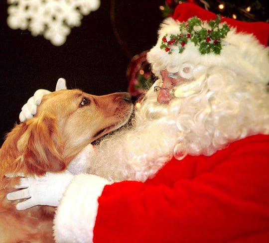 Your pet will be able to pose with Santa at Lollypop Farm.