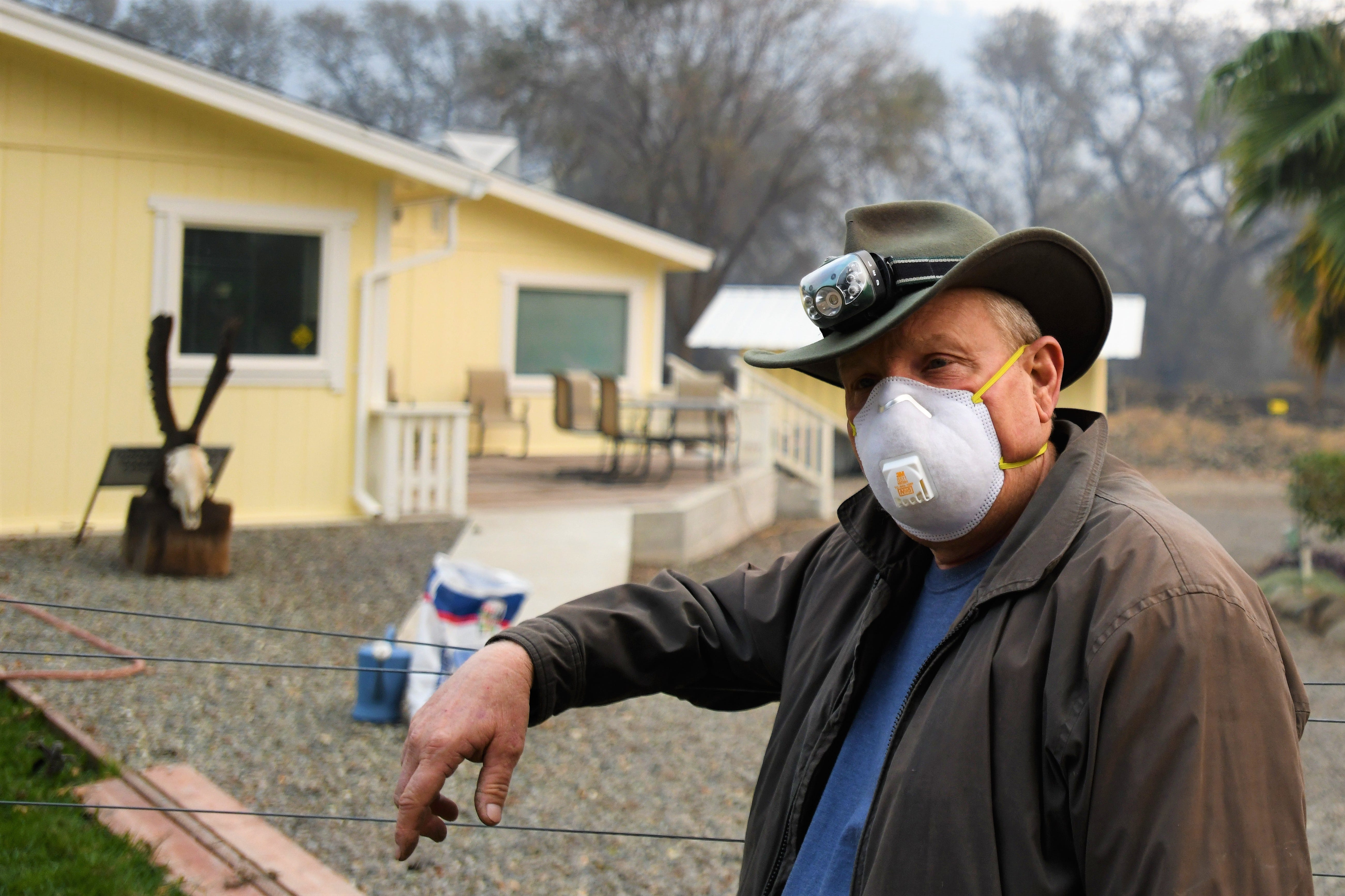 Inside the Camp Fire perimeter, these residents faced the inferno. Now, they're staying put.
