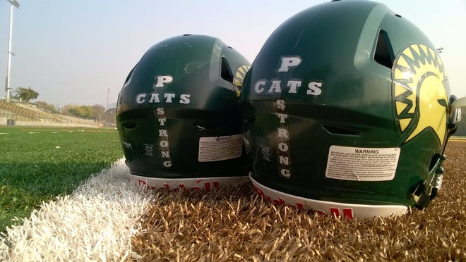 In their upcoming playoff matchup, Red Bluff and Pleasant Valley will wear helmet decals acknowledging Paradise High amid the Camp Fire.