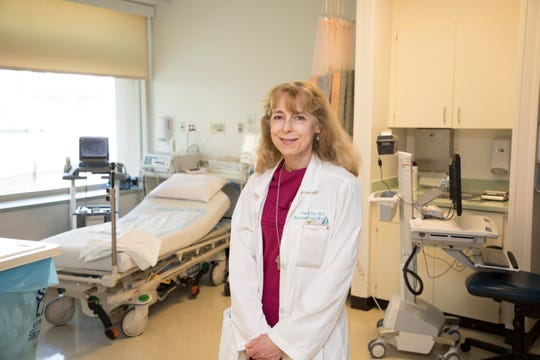 Obstetrician-gynecologist Dr. Nina Boe runs the high-risk maternity clinic at the University of California Davis Medical Center in Sacramento. Once a month, Boe comes to Redding to treat high-risk maternity patients.
