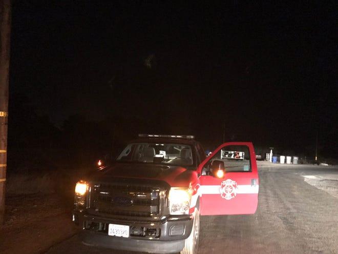 Redding fire officials on Thursday, Nov. 15, 2018 were at the scene of a plane crash off Desperado Trail north of the Redding Municipal Airport.